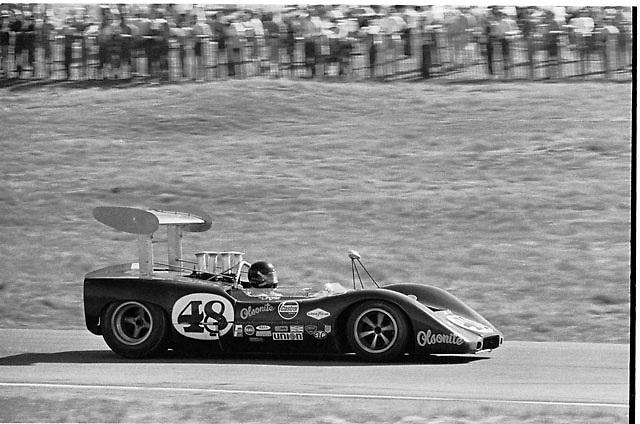 Dan Gurney in his McLeagle at 1969 Laguna Seca Can-Am