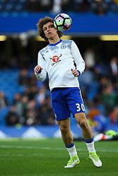 David Luiz of Chelsea during warm ups - Mandatory by-line: Jason Brown/JMP - 08/05/17 - FOOTBALL - Stamford Bridge - London, England - Chelsea v Middlesbrough - Premier League