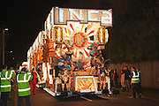 Inca by Wick Carnival Club at the 2011 Glastonbury Chilkwell Guy Fawkes Carnival.