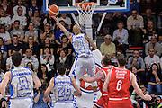 DESCRIZIONE : Beko Legabasket Serie A 2015- 2016 Playoff Quarti di Finale Gara3 Dinamo Banco di Sardegna Sassari - Grissin Bon Reggio Emilia<br /> GIOCATORE : David Logan<br /> CATEGORIA : Tiro Penetrazione Sottomano Controcampo<br /> SQUADRA : Dinamo Banco di Sardegna Sassari<br /> EVENTO : Beko Legabasket Serie A 2015-2016 Playoff<br /> GARA : Quarti di Finale Gara3 Dinamo Banco di Sardegna Sassari - Grissin Bon Reggio Emilia<br /> DATA : 11/05/2016<br /> SPORT : Pallacanestro <br /> AUTORE : Agenzia Ciamillo-Castoria/L.Canu