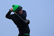 Allan Hill (Athenry) on the 1st tee during Round 3 of The West of Ireland Open Championship in Co. Sligo Golf Club, Rosses Point, Sligo on Saturday 6th April 2019.<br /> Picture:  Thos Caffrey / www.golffile.ie