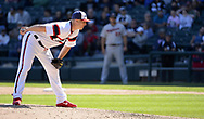 CHICAGO - MAY 06:  Nate Jones #65 of the Chicago White Sox pitches against the Minnesota Twins on May 6, 2018 at Guaranteed Rate Field in Chicago, Illinois.  (Photo by Ron Vesely)  Subject: Nate Jones