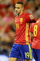 Spain's Rodrigo Moreno during FIFA World Cup 2018 Qualifying Round match. October 6,2017.(ALTERPHOTOS/Acero)
