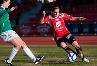 Fotball<br /> Toppserien<br /> 13. April 2011<br /> Arna Stadion<br /> Arna-Bjørnar v Amazon Grimstad 1 - 0<br /> Nina Bowen (L) , Amazon Grimstad<br /> Hege Hansen (R) , Arna-Bjørnar<br /> Foto: Astrid M. Nordhaug
