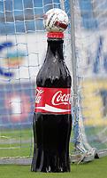 Fotball<br /> Norge<br /> 09.06.2010<br /> Foto: Morten Olsen, Digitalsport<br /> <br /> Tredje runde NM herrer<br /> Sandefjord v Moss 4:2<br /> <br /> Coca Cola og Umbro