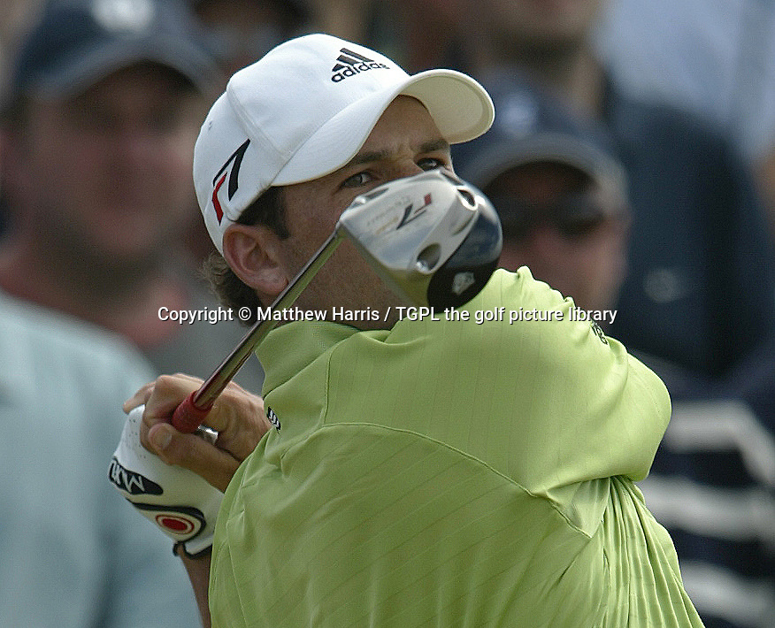 Sergio GARCIA (ESP) during fourth round The Open Championship 2005,St Andrews Old Course,St Andrews,Fife,Scotland.