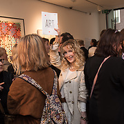 Basia Briggs is an author best selling Mother Anguish 'A Memoir' attend the Art On The Mind - Private view of an exhibition and auction which benefits homeless charity, Cardboard Citizens.