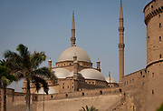 Alabaster Mosque or the Mosque of Muhammad Ali Pasha, situated in the Citadel of Cairo in Egypt