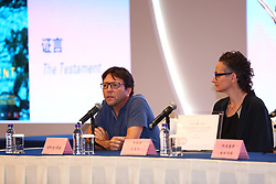 April 18, 2018 - Beijing, Beijing, China - Beijing, CHINA-18th April 2018: Crew of the film 'The Testament' including Hagit Dasberg attend the press conference at Beijing International Film Festival in Beijing, April 18th, 2018. (Credit Image: © SIPA Asia via ZUMA Wire)
