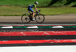 KERN Spela of Slovenia competes during Women Elite Road Race at UCI Road World Championship 2020, on September 26, 2020 in Imola, Italy. Photo by Vid Ponikvar / Sportida