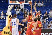 DESCRIZIONE : Berlino Berlin Eurobasket 2015 Group B Spain Iceland<br /> GIOCATORE : Felipe Reyes<br /> CATEGORIA :Controcampo rimbalzo<br /> SQUADRA : Spain<br /> EVENTO : Eurobasket 2015 Group B <br /> GARA : Spain Iceland<br /> DATA : 09/09/2015 <br /> SPORT : Pallacanestro <br /> AUTORE : Agenzia Ciamillo-Castoria/Mancini Ivan<br /> Galleria : Eurobasket 2015 <br /> Fotonotizia : Berlino Berlin Eurobasket 2015 Group B Spain Iceland