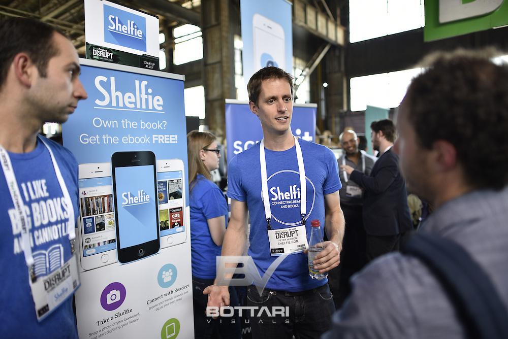TechCrunch Disrupt SF 2015. Photo by Jeff Bottari for TechCrunch