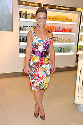 GEORGIE THOMPSON at the launch of the new John Lewis Beauty Hall, John Lewis, Oxford Street, London on 8th May 2012.