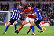Middlesbrough v Sheffield Wednesday 261218