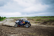 Mitch Guthrie, Jr. drives at Seth Quintero and Mitch Guthrie Jr. custom-built SXS course TexPlex in Dallas, Texas, USA on 29 August, 2021.