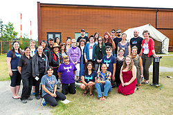 Adaka Cultural Festival 2016, Whitehorse, Yukon, Canada, Yukon First Nation Culture and Tourism Association, Kwanlin Dun Cultural Centre, festival staff team