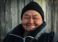 I've met Josie Nastapoka while I was going to work. He was going hunting caribou.