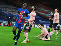 Football - 2020 / 2021 Premier League - Crystal Palace vs Sheffield United - Selhurst Park<br /> <br /> Eberechi Eze of Crystal Palace scores goal no. 2 just before half time<br /> <br /> <br /> COLORSPORT/ANDREW COWIE