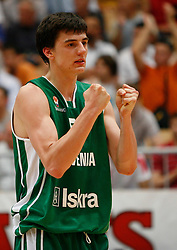 Basketball player Emir Preldzic of Slovenia, U21 European Championships, on July 6, 2007, Nova Gorica, Slovenia.  (Photo by Vid Ponikvar/Sportida)