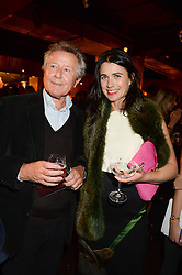 DAVID JENKINS and EMILY SHEFFIELD at the Vogue Pop Up Club at Westfield London to celebrate Westfield London's 5th birthday on 30th October 2013.