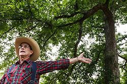 Billy Pemberton at Big Spring, Great Trinity Forest, Dallas, Texas, USA