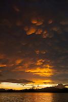 Sunset in Mayalibit Bay, Waigeo Island.