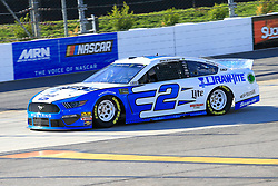 March 23, 2019 - Martinsville, VA, U.S. - MARTINSVILLE, VA - MARCH 23:  #2: Brad Keselowski, Team Penske, Ford Mustang Reese/DrawTite during practice for the STP 500 Monster Energy NASCAR Cup Series race on March 23, 2019 at the Martinsville Speedway in Martinsville, VA.  (Photo by David J. Griffin/Icon Sportswire) (Credit Image: © David J. Griffin/Icon SMI via ZUMA Press)