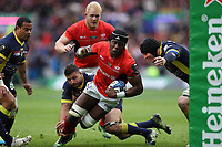 Rugby Union - 2017 European Rugby Champions Cup Final - Clermont Auvergne vs. Saracens<br /> <br /> Maro Itoje of Saracens during the Champions Cup Final at Murrayfield.<br /> <br /> COLORSPORT/LYNNE CAMERON