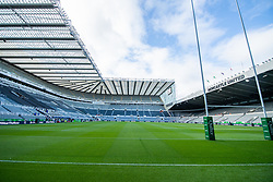 A general view of St James' Park, todays venue the Quilter International between England v Italy <br /> <br /> Photographer Craig Thomas/Replay Images<br /> <br /> Quilter International - England v Italy - Friday 6th September 2019 - St James' Park - Newcastle<br /> <br /> World Copyright © Replay Images . All rights reserved. info@replayimages.co.uk - http://replayimages.co.uk