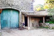 Domaine de Terre Megere, Cournonsec, Montpellier. Gres de Montpellier. Languedoc. The winery building. France. Europe.