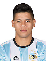 Conmebol - World Cup Fifa Russia 2018 Qualifier / <br /> Argentina National Team - Preview Set - <br /> Marcos Faustino Alberto Rojo