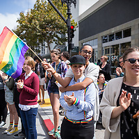 Pride Parade. Oakland, California. September 2016. <br />