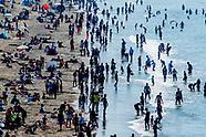 strand scheveningen drukte hemelvaart