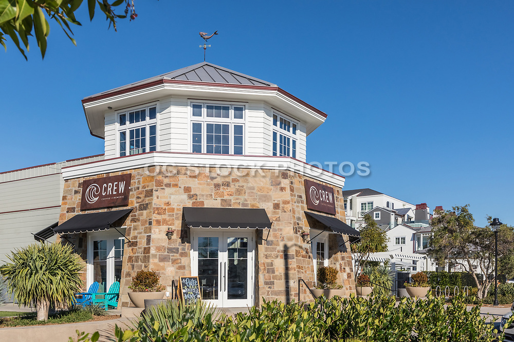 Front Entrance of Crew Coffee and Cremerie in Newport Beach