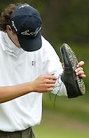 MOLENSCHOT - Jeffrey Meijer.   Voorjaarswedstrijd golf 2003 op GC Toxandria. . COPYRIGHT KOEN SUYK