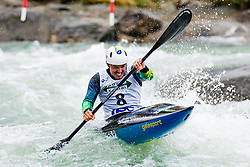 Pedro GONCALVES (BRA) during Kayak Finals at World Cup Tacen, 17 October 2020, Tacen, Ljubljana Slovenia. Photo by Grega Valancic / Sportida