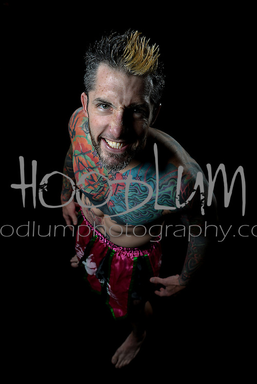 Portrait of MMA Muay Thai Fighter Steven Simmons