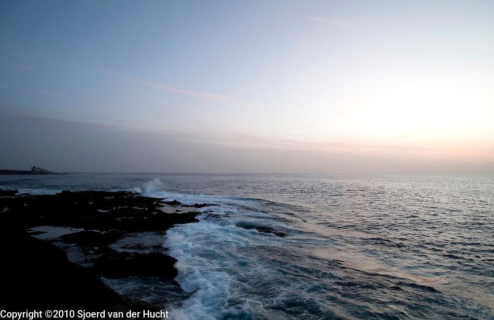 Along the coast of Puerto Santiago, Tenerife, Spain
