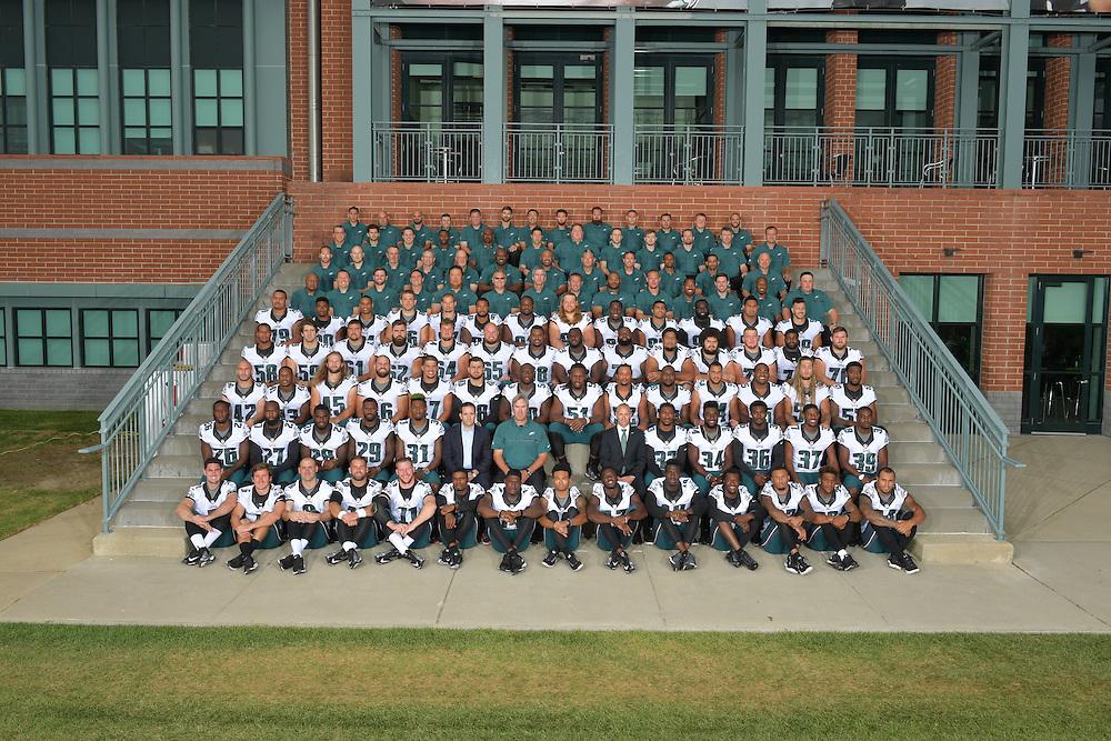 The 2016 Philadelphia Eagles team photograph and portraits at the NovaCare Complex on September 18, 2016 in Philadelphia, Pennsylvania.  (Photo by Drew Hallowell/Philadelphia Eagles)