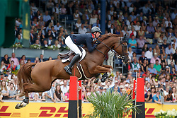 Maher Ben, (GBR), Diva II<br /> Individual Final Competition<br /> FEI European Championships - Aachen 2015<br /> © Hippo Foto - Dirk Caremans<br /> 23/08/15