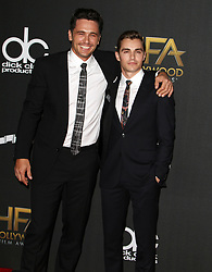 The 21st Annual Hollywood Film Awards at The Beverly Hilton Hotel in Beverly Hills, California on 11/5/17. 05 Nov 2017 Pictured: James Franco, Dave Franco. Photo credit: River / MEGA TheMegaAgency.com +1 888 505 6342