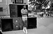 Washington DC USA - sound system 1985