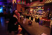 Bar Nun.  A man dressed as a nun at Bow Bar in Carrboro, NC.