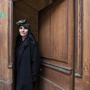 Piccolo Teatro Grassi, Milano, Italia, 6 Aprile 2021. Luana Marchesini, 39 anni, macchinista.