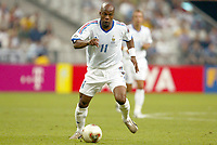 FOOTBALL - CONFEDERATIONS CUP 2003 - GROUP A - FRANKRIKE v NEW ZEALAND - 030622 - SYLVAIN WILTORD (FRA) - PHOTO STEPHANE MANTEY / DIGITALSPORT