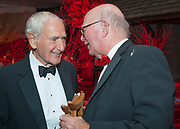 """George A. """"Frolic"""" Weymouth and Comcast founder Ralph J Roberts at the Ruby Anniversary Ball at the Brandywine River Museum in Chadds Ford, Pa. on 5 October 2007. Photograph by Jim Graham"""