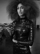 EMILIA BOATENG, Glam Rock fashion shoot. 8 September 2016