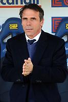 Gianfranco Zola Cagliari <br /> Bergamo 01-02-2015 Stadio Atleti Azzurri d'Italia Football Calcio Serie A 2014/2015 Atalanta - Cagliari foto Image Sport / Insidefoto