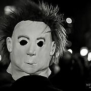 Michael Myers mask on Halloween night 2008 in New York.