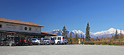 Alaska. Mary Carey's McKinley View Lodge along the Parks Highway.  A nice waystop loaded with history, good views and good food.